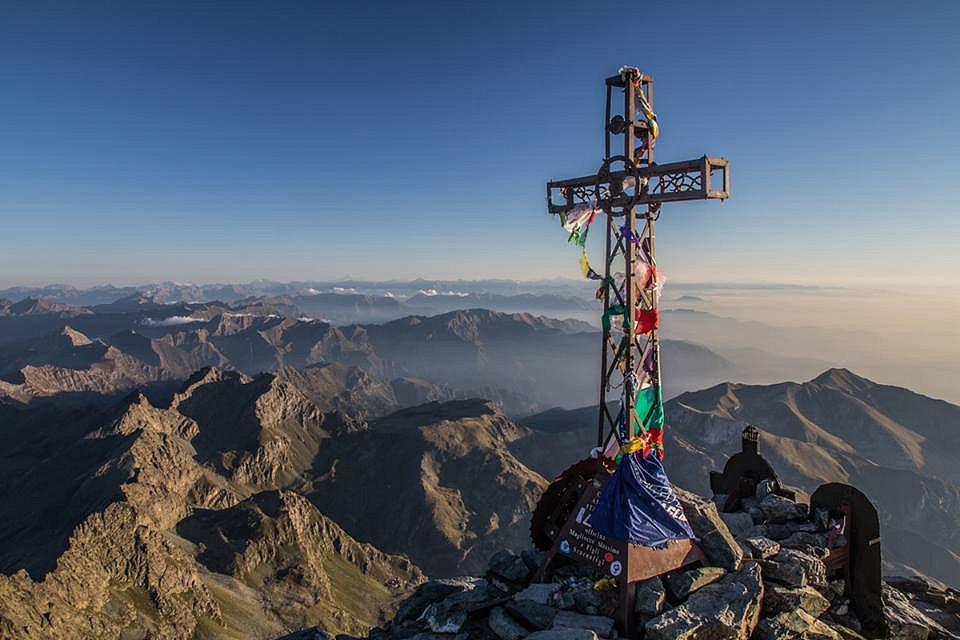 Au sommet du Mont Viso (3841 m)