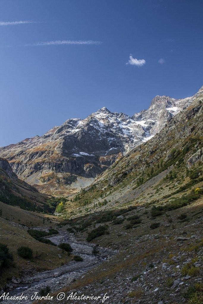 Vers la Pointe de Chanteloube (3161 m)