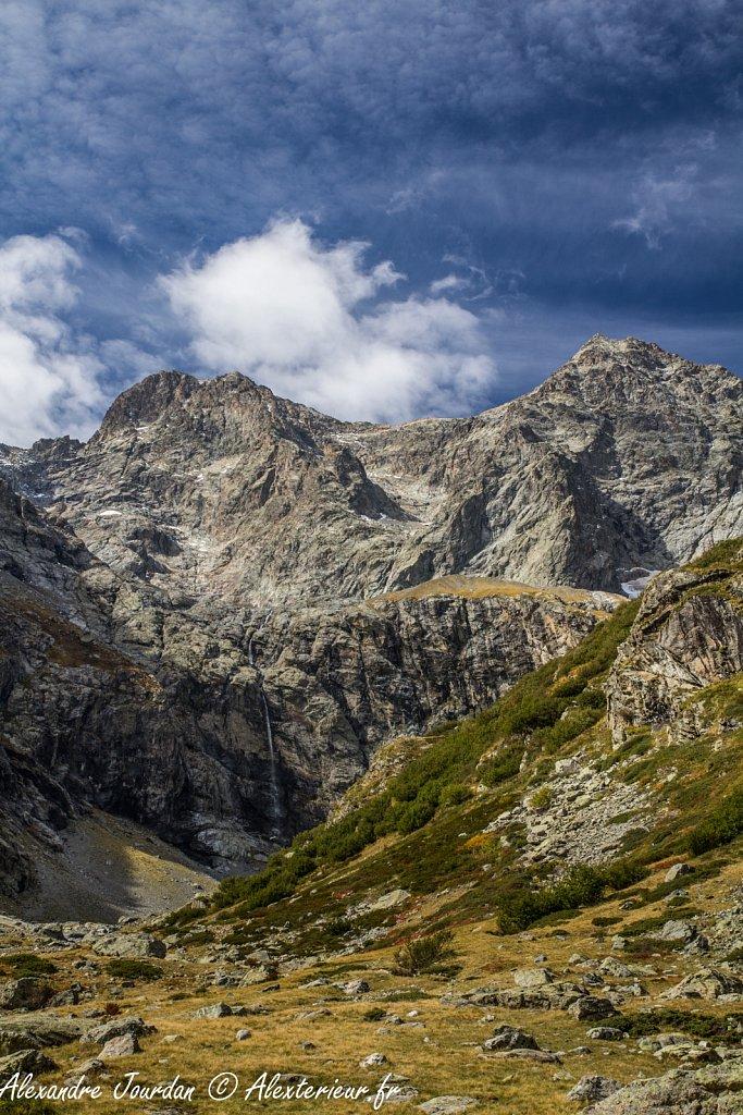 Pointe de Verdonne (3328 m) et Pointe du Queyre (3264 m)