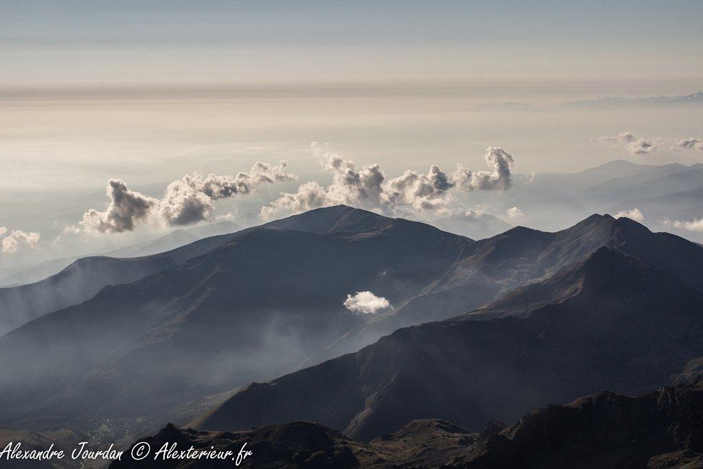 Depuis le Mont Viso (3841 m)