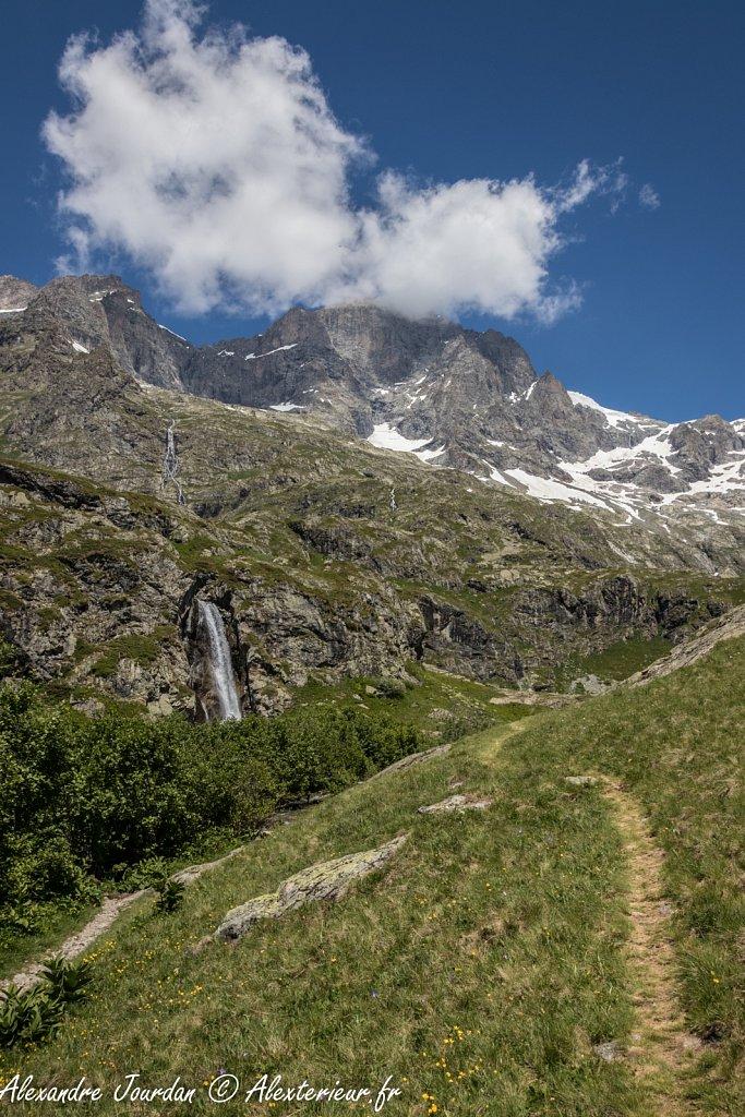Sommet des Rouies (3589 m)
