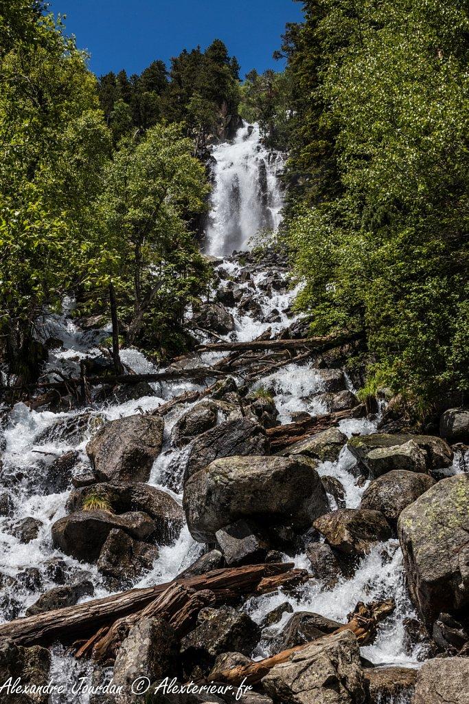 Cascade de Ratera, Parc Nacional d'Aigüestortes i Estany de Sant Maurici