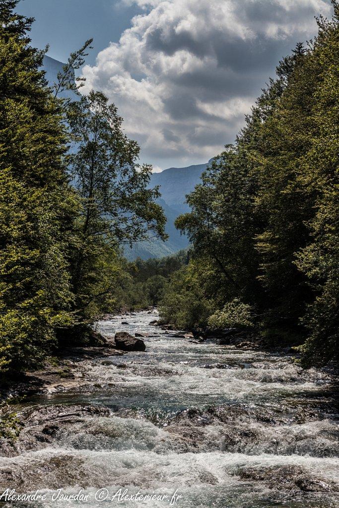 Rio Arazas, Parque Nacional de Ordesa y Monte Perdido