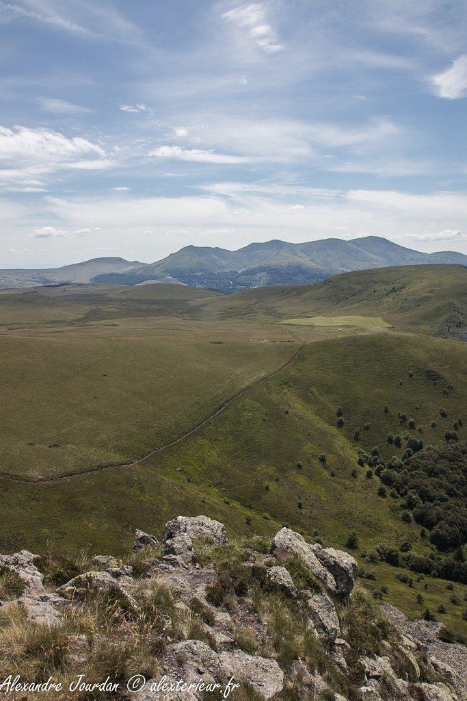 Vue depuis la Banne d'Ordanche (1512 m)